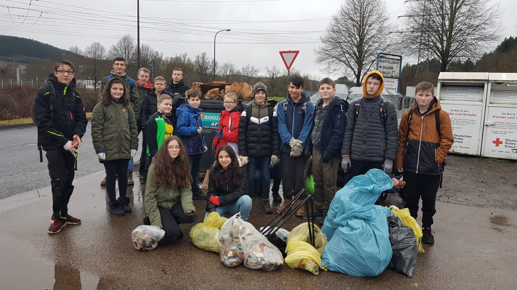 Die fleißigen Müllsammler
