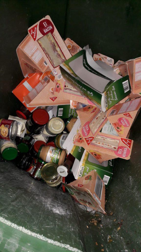 Fundstücke an Heiligabend im Edekamüll Trier-Nord