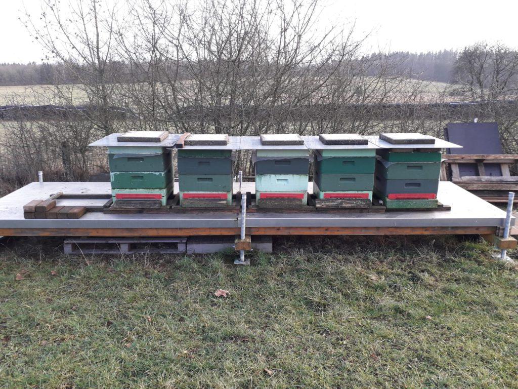 Die Bienenstöcke von Familie Kramm