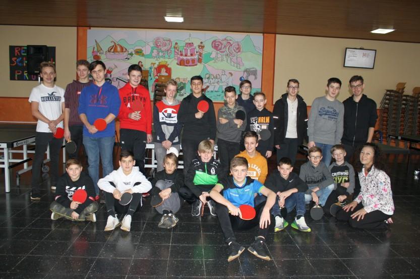 Die Tischtennis-Crew