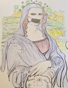 Mona Corona, gestaltet von Gracia Wolf, 8a