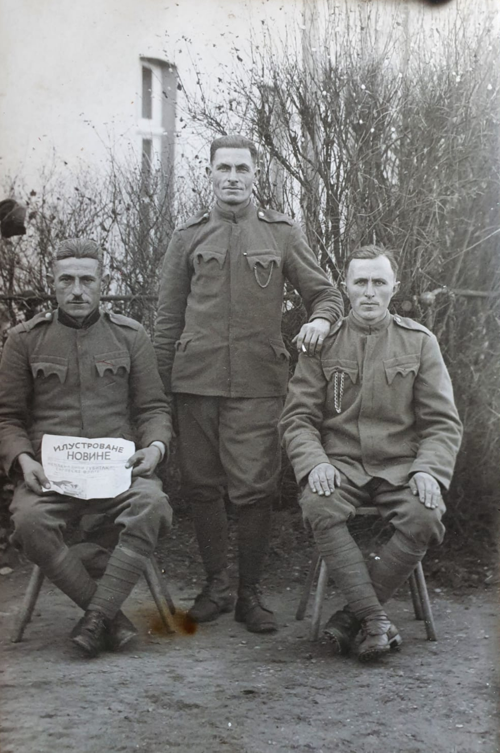in russischer Kriegsgefangenschaft