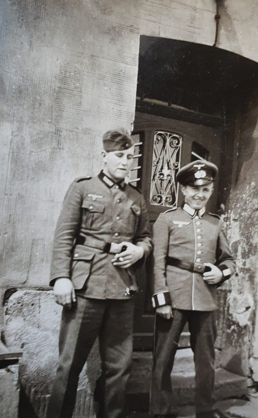 Paul Reusch (links) und sein Bruder Christian