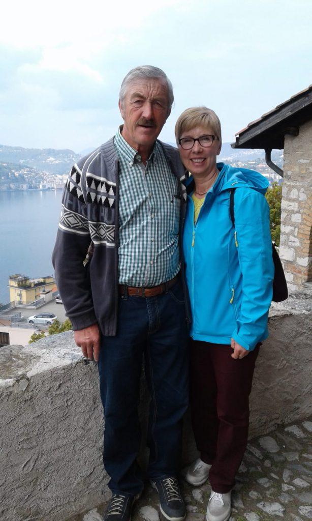Magda Backes mit Mann Fred
